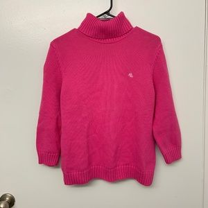 LAUREN Ralph Lauren Pink Turtleneck Sweater XL